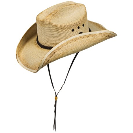 Kenny Chesney By Blue Chair Bay Cowboy Hat Palm Leaf Straw For Men And