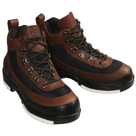 Proline Wading Boots - Leather, Studded Felt Sole (For Men)
