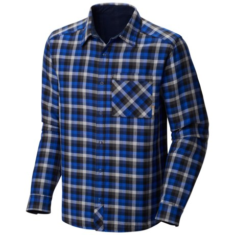 Mountain Hardwear Reverse Grid Shirt - Long Sleeve (For Men)