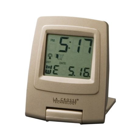 La Crosse Technology Digital Travel Alarm