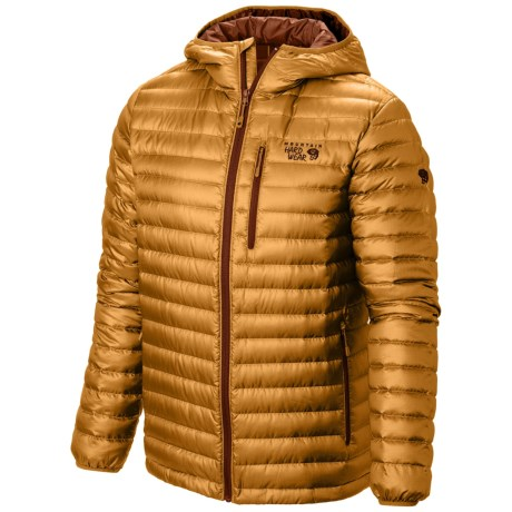 Mountain Hardwear Nitrous Hooded Q.Shield® Down Jacket - 800 Fill Power (For Men)