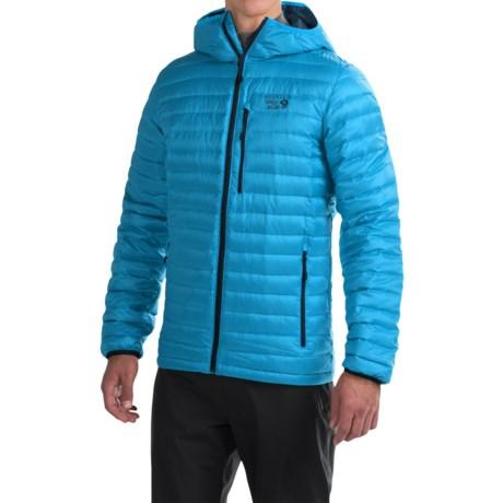 Mountain Hardwear Nitrous Hooded Q.Shield® Down Jacket - 800 Fill Power (For Men)