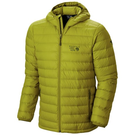 Mountain Hardwear Micro Ratio Q.Shield® Hooded Down Jacket - 650 Fill Power (For Men)
