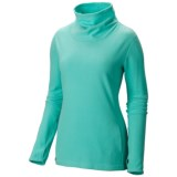 Mountain Hardwear Microchill Fleece Shirt - UPF 50, Cowl Neck, Long Sleeve (For Women)