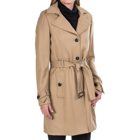 Wool Trench Coat For Women