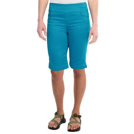 FDJ French Dressing Pull-On Bermuda Shorts (For Women)