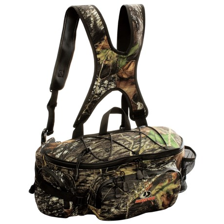 High Sierra Sports Mossy Oak® Waist Pack with Shoulder Harness - Waterproof