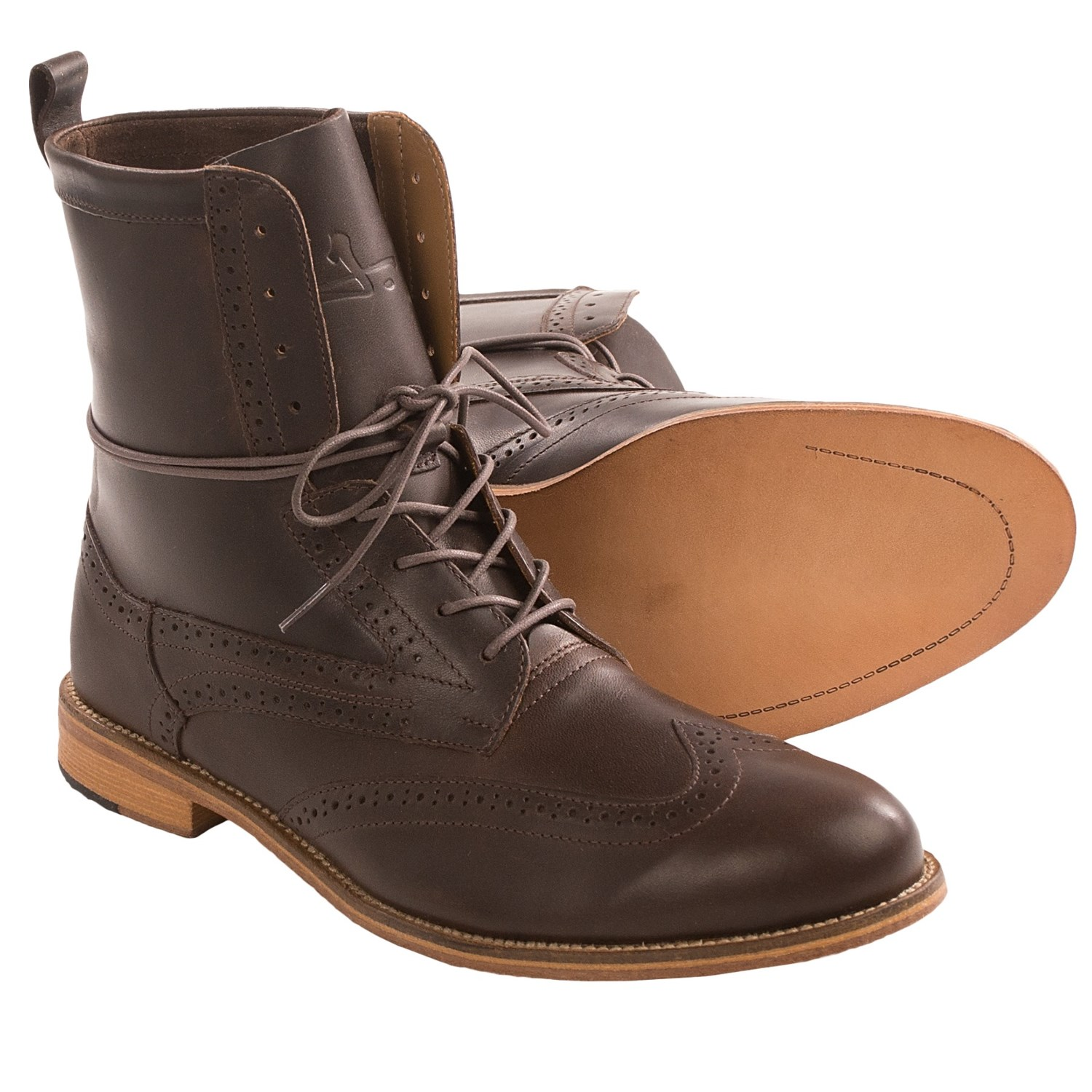 J Shoes Andrew  Brogue Boot