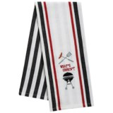 DII Embroidered Dish Towel
