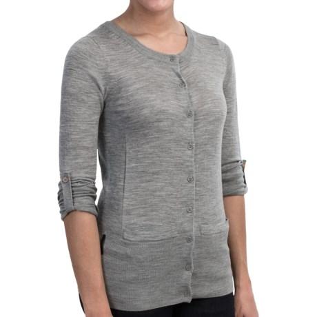 Icebreaker Athena Cardigan Sweater - Merino Wool (For Women)