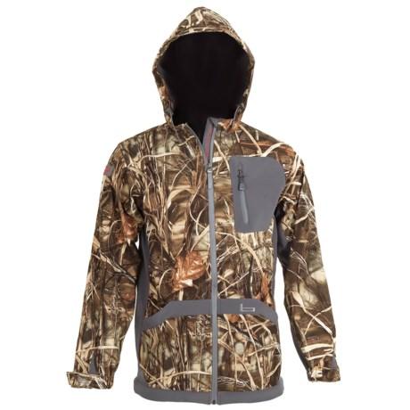 Banded UFS Fleece Hooded Jacket (For Men)