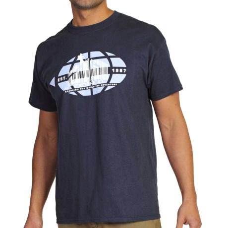 ExOfficio Scanning the World T-Shirt - Short Sleeve (For Men)