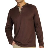 ExOfficio Isoclime Thermal Henley Shirt - UPF 20+, Long Sleeve (For Men)