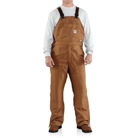 Carhartt Flame-Resistant Canvas Bib Overalls (For Big and Tall Men)