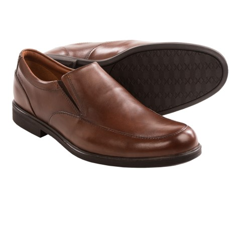 Clarks Gabson Step Shoes - Leather, Slip-Ons (For Men)