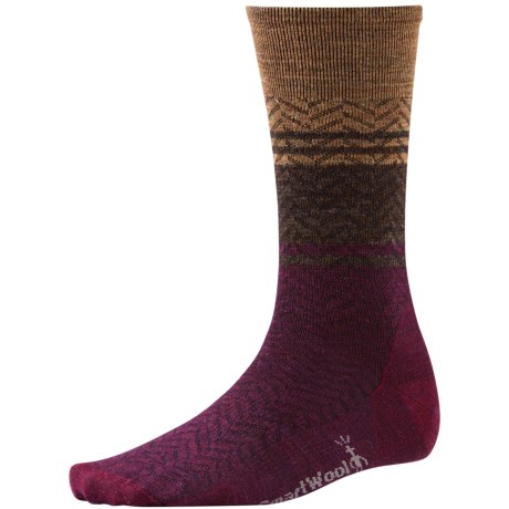 SmartWool Lifestyle Interzag Socks - Merino Wool, Mid-Calf (For Men and Women)
