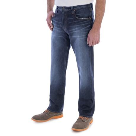 Bluer Denim M18 Loose Straight Jeans (For Men)