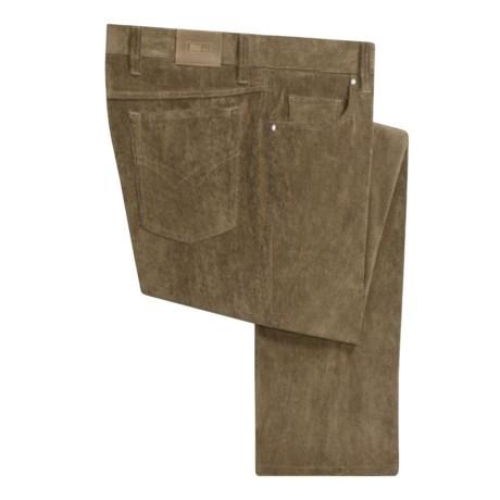 Hiltl Microfiber Corduroy Pants (For Men)