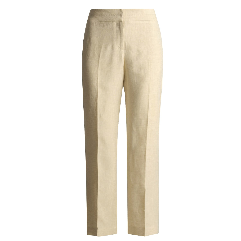 Wonderful Linen Trousers Women  Watchfreak Women Fashions