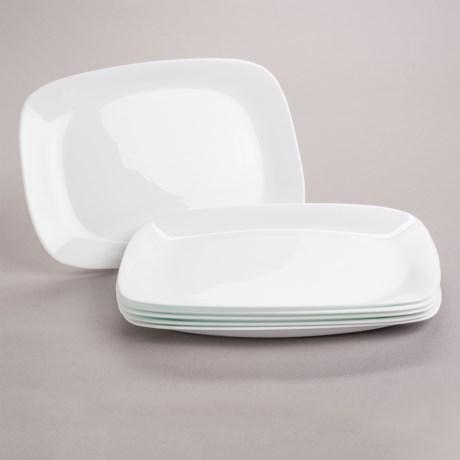 Bormioli Rocco Parma Serving Plates - Opal Glass Set of 6 & sorta like corelle - Review of Bormioli Rocco Parma Serving Plates ...