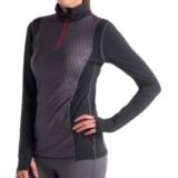 Lole Striking Shirt - Zip Neck, Long Sleeve (For Women)