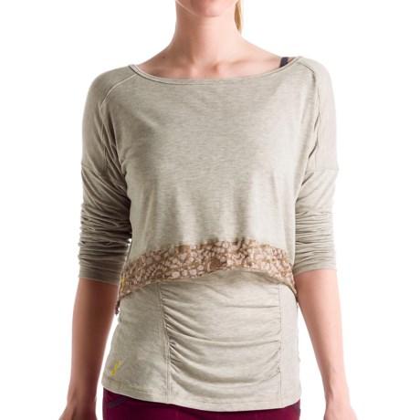 Lole Anada Crop Top Shirt - Long Sleeve (For Women)