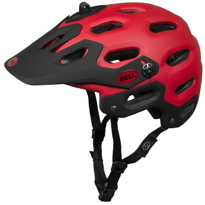 Bell Mountain Bike Helmets >> Bell Super All-Mountain Bike Helmet 8512W - Save 52%