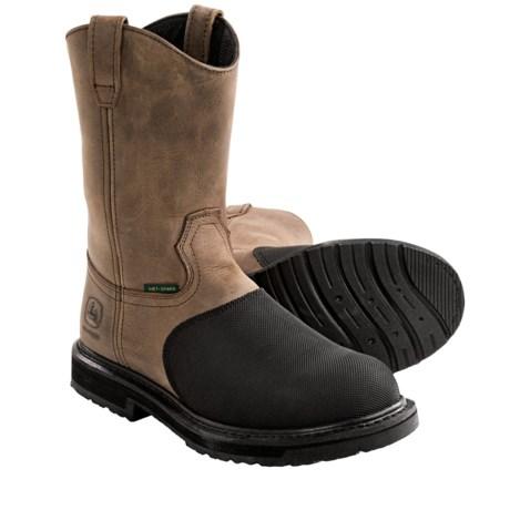 "Great work boot. - Review of John Deere Footwear 11"" Met Guard"