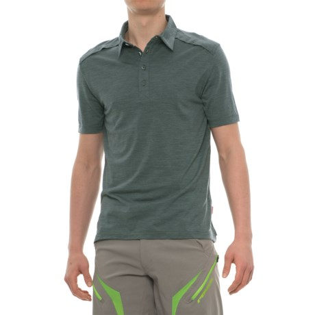 Giro CA Cycling Polo Shirt - Merino Wool, Short Sleeve (For Men)
