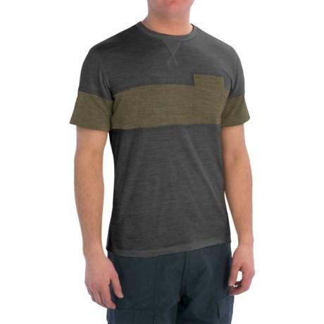 Giro CA Ride Cycling T-Shirt - Merino Wool Blend, Short Sleeve (For Men)