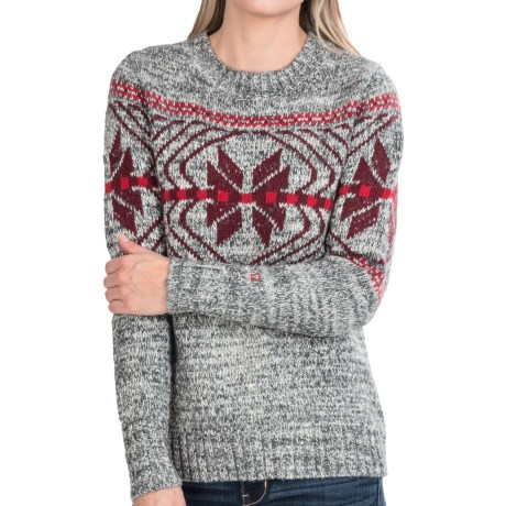 Woolrich White Label Native Crew Sweater (For Women)