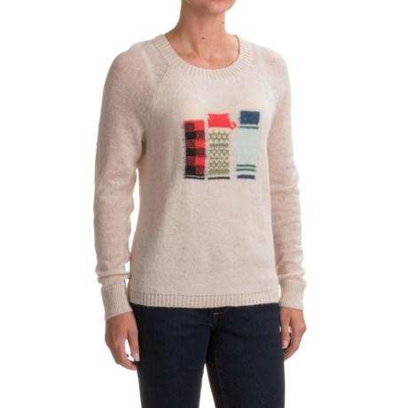 Woolrich Motif Mohair Sweater (For Women)
