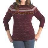Woolrich Bateau Fair Isle Sweater (For Women)