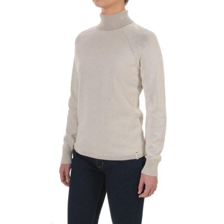 Woolrich Plum Run Turtleneck Sweater (For Women)