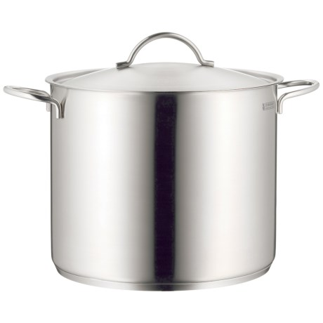 WMF Stainless Steel Stock Pot with Lid - 14.75 qt.