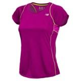 New Balance Accelerate T-Shirt - Short Sleeve (For Women)