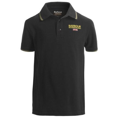 Barbour International Rex Polo Shirt - Short Sleeve (For Boys)