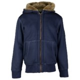 Barbour Silverton Zip Hoodie - Faux-Fur Lining (For Boys)
