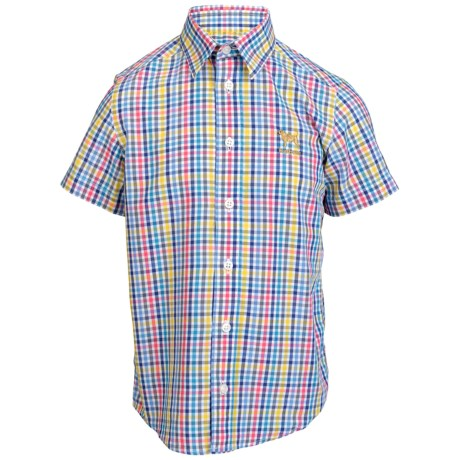 Barbour Cotton Shirt - Short Sleeve (For Boys)