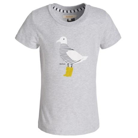 Barbour Cotton T-Shirt - Short Sleeve (For Girls)