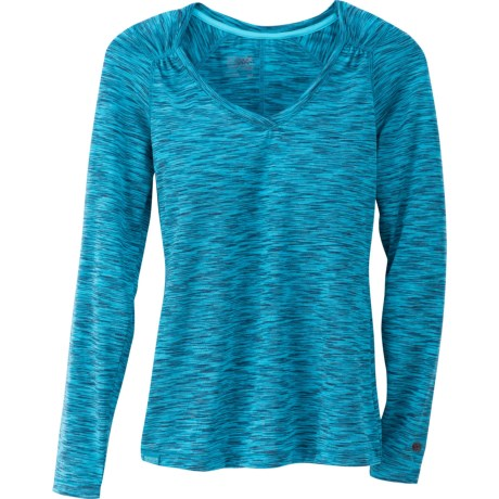 Outdoor Research Flyway Shirt - V-Neck, Long Sleeve (For Women)