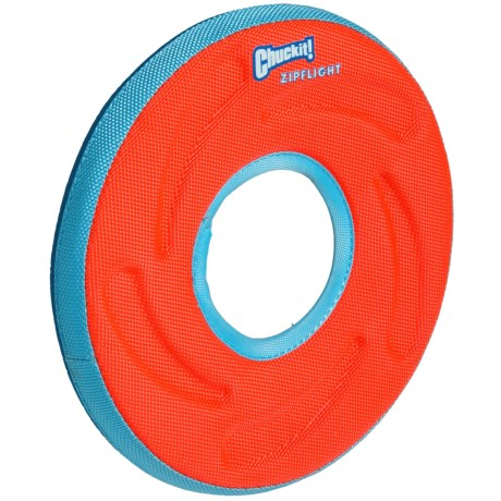 ChuckIt! Zipflight Flying Ring Dog Toy - Medium