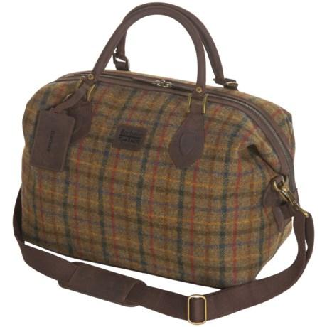Barbour Tweed Wool Explorer Bag