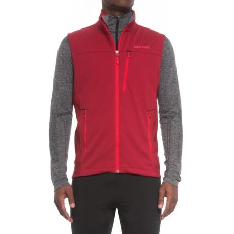 Marmot Leadville Soft Shell Vest - Windstopper® (For Men)