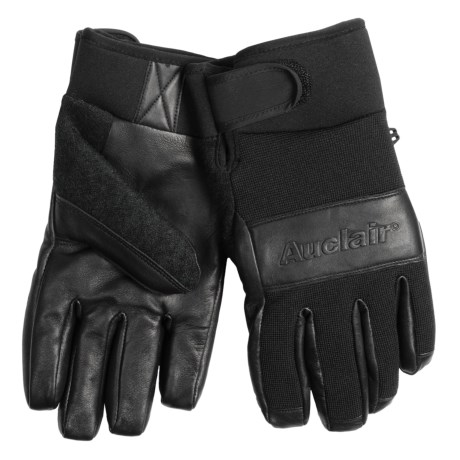 Auclair Embossed Gloves - Waterproof, Insulated (For Men)