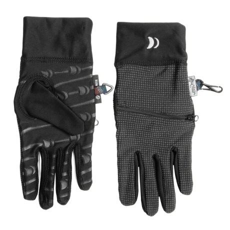 Auclair Illuminoon Zip Gloves (For Men)