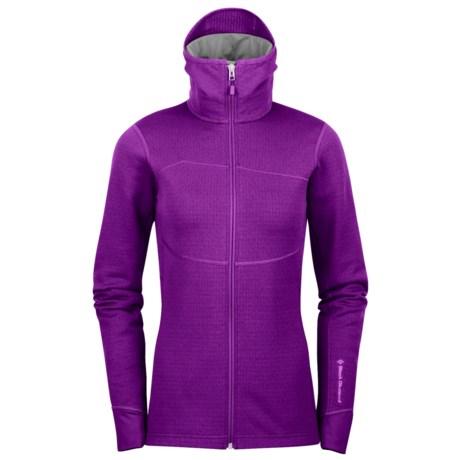 Black Diamond Equipment CoEfficient Hooded Jacket - Polartec® Power Dry® (For Women)