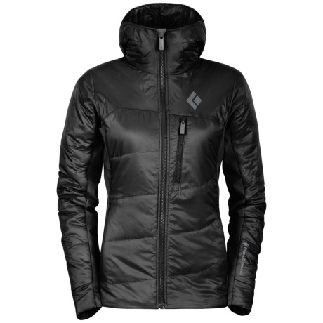 Black Diamond Equipment Access Hybrid Hooded Jacket - PrimaLoft® Silver (For Women)
