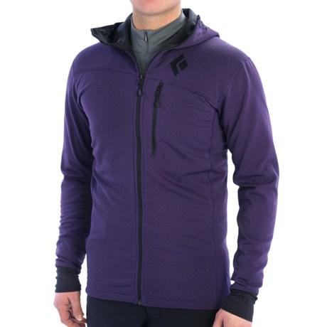 Black Diamond Equipment CoEfficient Polartec® Power Dry® Jacket - Hooded (For Men)