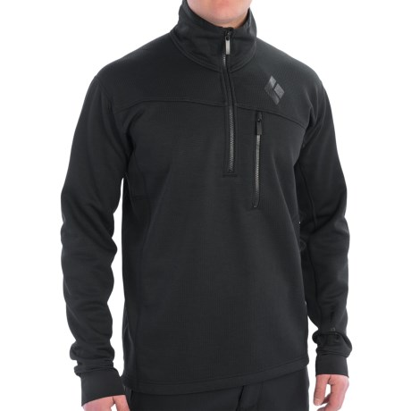 Black Diamond Equipment Solution Polartec® Fleece Pullover Jacket - Zip Neck (For Men)